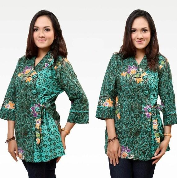 Baju Batik Cewek Model Baju Batik Wanita Terbaru 2019